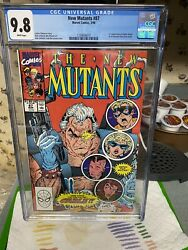 New Mutants 87 Cgc 9.8 1st App Of Cable 1st App Of Stryfe...1st Print