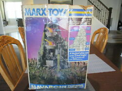 Vintage Mt. Navarone And Other Army Playsets Men Tanks Trucks Mountain Marx Toy