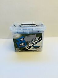 Eastpoint Acl Dual Sided Bean Bags - 4 Count Blue New In Box Unopened Ships Asap