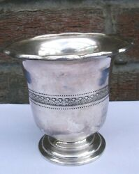Antique Silver Plated Goblet/cup Cooper Brothers Sheffield,a1940,10 Cm/4 Tall