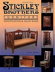 Stickley Brothers Furniture Identification And Value Guide Larr