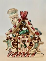 Heather Goldminc Blue Sky Clayworks Christmas Collection Gingerbread House