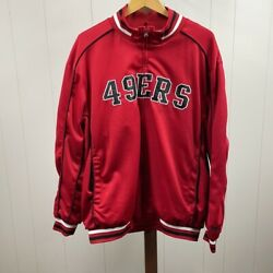 Nfl G-iii 49ers Embroidered Red Jacket Men's Xxl