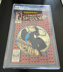 Amazing Spiderman 300 Cgc 6.0 White Pages 1st Full Venom Appearance