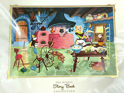 Disney Story Book Collection Deluxe Art Print - Cinderella - Matted - Brand New