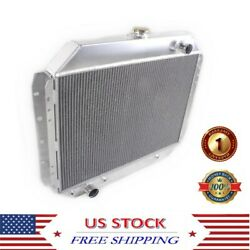 3rows Cooling Radiator For 1966-1979 Ford F100 F150 F250 F350 Bronco Truck 69 79