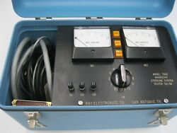 Ray Electronics Model 7802 Nose Gear Steering System Tester 7412-3