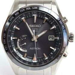 Seiko Astron Sbxb085 Date 8x22-0ag0-2 World Time Gps Solar Mens Watch Authentic