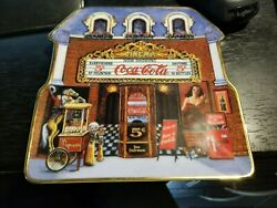 Coca Cola Cinema Limited Edition Plate By Sandi Lebron 1999 Plate Number Ra 1451