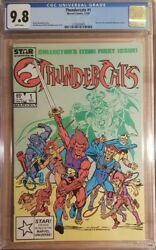 1985 Thundercats 1 Cgc 9.8 1st Issue Cover Marvel