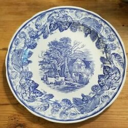 Spode Blue Room Collection Rural Scenes Dinner Plate