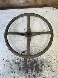 Early 1928 Model A Ford Steering Wheel Red Oem Rare