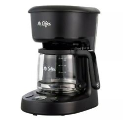 Mr. Coffee 2109181 5 Cup Programmable Coffee Makers - Black