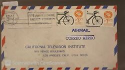 O 1977 Mexico Mexico Exporta Bicycle Use And Collect Olimpicos Postcards Canc