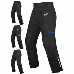 Hawk Sports Mesh Motorcycle Pants Motocross Trousers Ce Armored All-weather