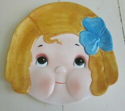 Vintage 1892 Billy Bumps Dolly Dingle Full Face Plate House Of Global Art