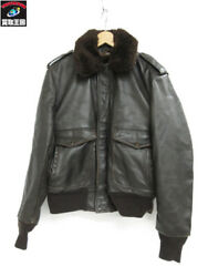 Schott A-2 With Liner Leather Jacket 184sm 38 Brown Secondhand