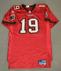 Keyshawn Johnson Tampa Bay Buccaneers 2000 Adidas Team Issued Authentic Jersey