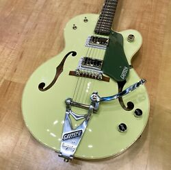 Gretsch G6118t-60 Vintage Select Edition '60 Anniversary Hollow Body Smoke Green