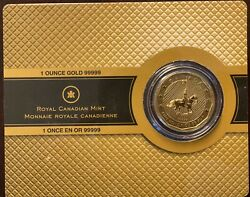 2011 Canadian Mountie Gold 1 Oz Coin In Original Packaging