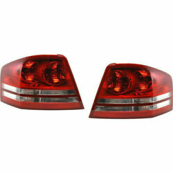 Fits Dodge Avenger Tail Light 2008 2009 2010 Pair Driver And Passenger Ch2800182