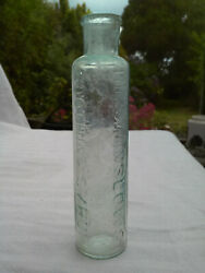 Mrs Winslows Soothing Syrup Curtis And Perkins Medicine Cure Bottle C1880-1920