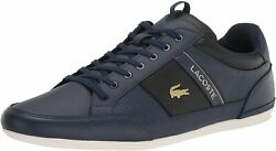 Lacoste Menand039s Sneakers 40cma0067 Chaymon Blue 26.5cm Japan New