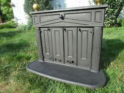 Vintage/antique Cast Iron Coal Stove Sears Roebuck From Central Pa
