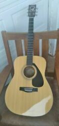 Vintage Guitar Rare Yamaha Fg 411s Solid Spruce Top Acoustic Very Good _35672