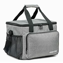 OMOVEE Cooler Bag 30L 40 cans Collapsible Beach Cooler Bag Portable Soft Larg... $34.02