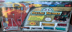 Vintage Bachmann Rolling Thunder Ho Scale Train Set New In Box Item 00603 Nos
