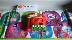 Leap Frog Learn And Groove Musical Mat Pad Toddler +free Tads Counting Farm