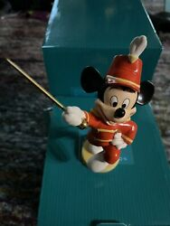 Wdcc Mickey Mouse Club Mickey Mouse / Strike Up The Band With Box And Coa