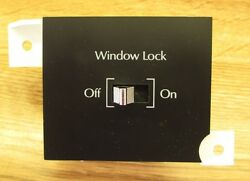 1992 1993 Cadillac Deville Fwd Fleetwood Window Lock Out Switch