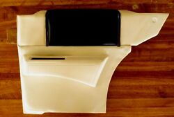 1985-88 Cadillac Coupe Deville Rh Rear Panel And Armrest Two-tone Dk. Blue / White