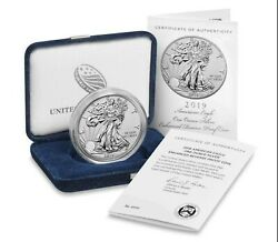 American Eagle 2019 One Ounce Silver Enhanced Reverse Proof Coin Confirmed Order