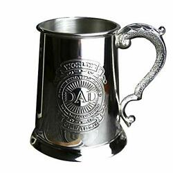 English Pewter Dad-ts400-1 Tin Beer Cup 16.9 Fl Oz 500 Ml For Father's Day Gift