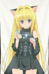 Tolove Golden Darkness Life-size Tapestry Cospa Cat Ears Blond Hair Lolita