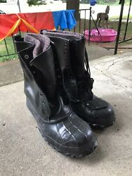 Lacrosse De-icer Duck Boots Size 11 Steel Toe And Shank Ansi Safety New No Box