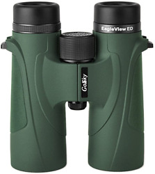 Gosky Eagleview 10x42 Ed Binoculars For Adults Professional Ed Glass Waterproof