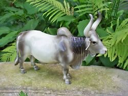Breyer Brahma Bull early #x27;70s Good condition Some wear No chips or breaks