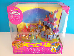 Polly Pocket Beauty And The Beast Magical Castle Disney 1997 Mattel Vintage Neuf