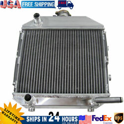 Sba310100211 Aluminum Radiator For Ford 1300 Compact Tractor With/ Radiator Cap