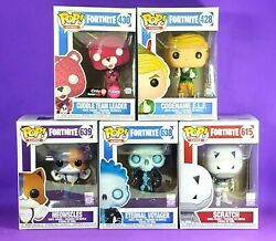 Funko Fortnite Pop Lot 2018 Codename Elf And Meowscles Cuddle Team Voyager More
