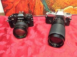 2 Vintage Cameras For Display Only As They May Not Work - Sold As Is Lot 107