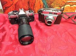 2 Vintage Cameras For Display Only As They May Not Work - Sold As Is Lot 108