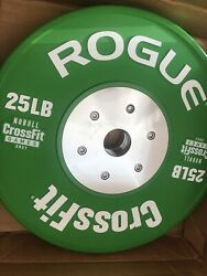 Rogue 2021 Nobull Crossfit Games Competition Bumper Plates Pair 25 Lbs