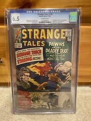 Strange Tales 126 Marvel 1964 Cgc Off White Pages 1st Dormammu And Clea Mcu