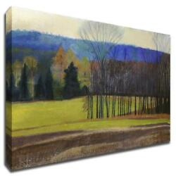 Charlevoix County By Cathe Hendrick 40 X 28 Wall Art Print On Canvas Green