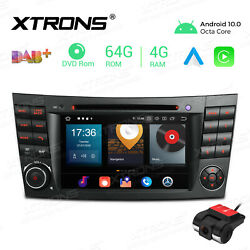 For Mercedes-benz E-w211 W219 7 Android 10 Car Stereo Dvd Gps Radio 8-core +dvr